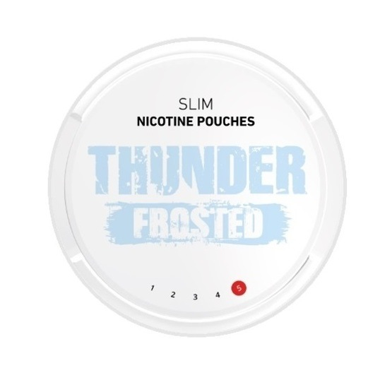 Thunder Frosted Slim Extra Strong All White Portion