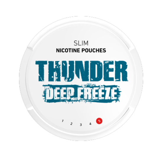 Thunder Deep Freeze Slim Extra Strong All White Portion