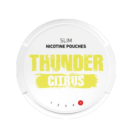 Thunder Citrus Slim Extra Strong All White Portion