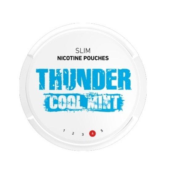 Thunder Cool Mint Slim Strong All White Portion