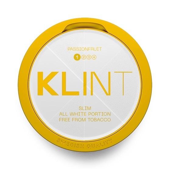 Klint Passionfruit #1 Slim All White Portion
