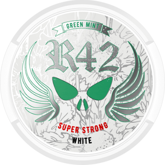 R42 Green Mint Super Strong White Portion