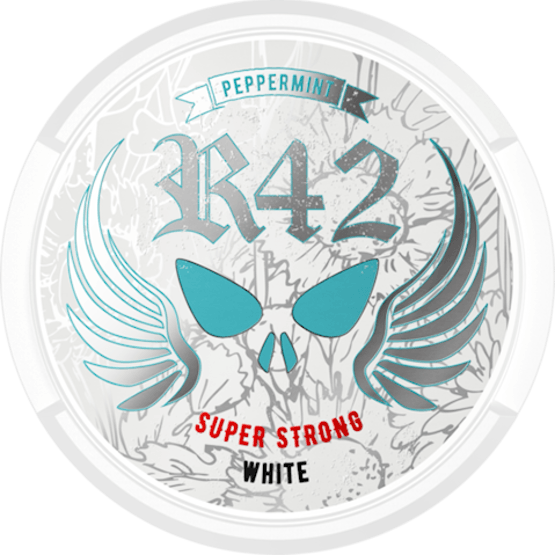 R42 Peppermint Super Strong White Portion