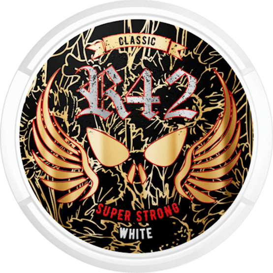 R42 Classic Super Strong White Portion