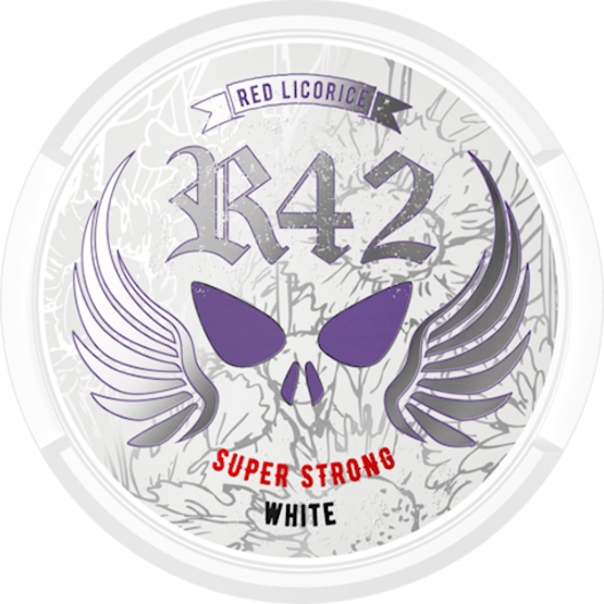 R42 Red Licorice Super Strong White Portion