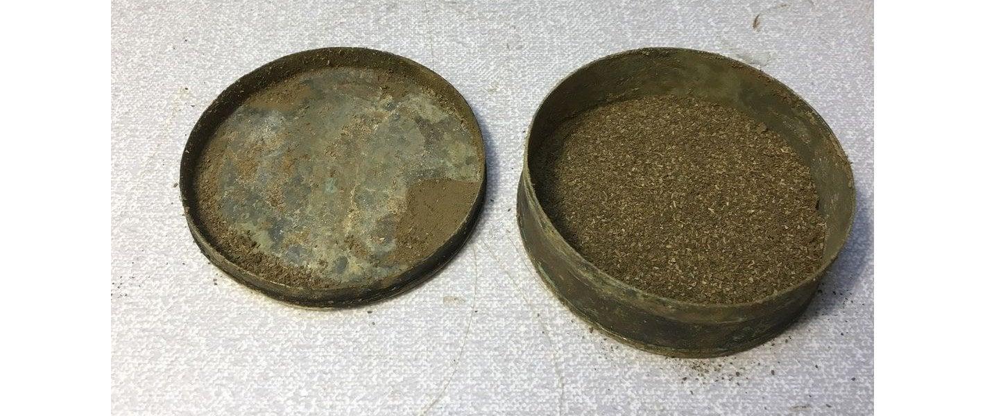 300 Jahre altes Snus in Norrköping gefunden