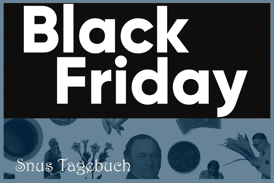 Black Friday & Black Week 2020 beim SnusMarkt!