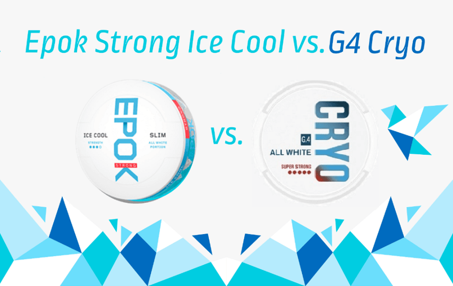 Epok Strong Ice Cool Mint vs. General G4 Cryo