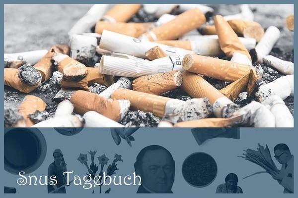 Jede ausgemachte Zigarette - ein Gewinn für die Gesundheit