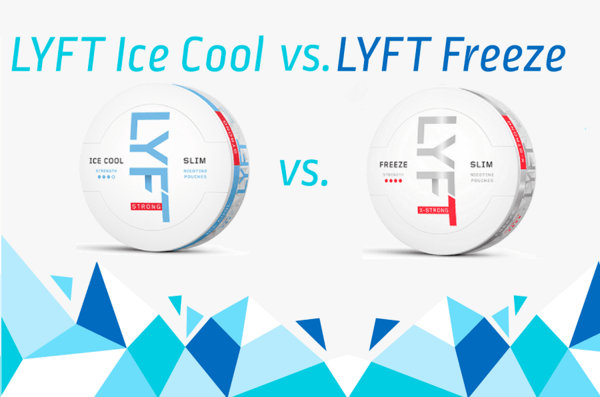 LYFT Ice Cool Mint vs. LYFT Freeze X-Strong