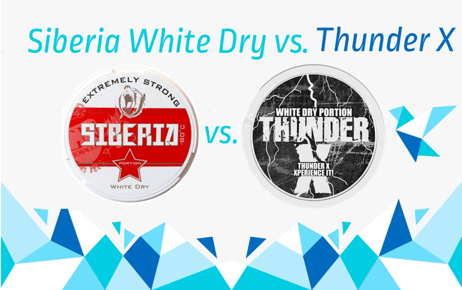 Siberia White Dry vs Thunder X
