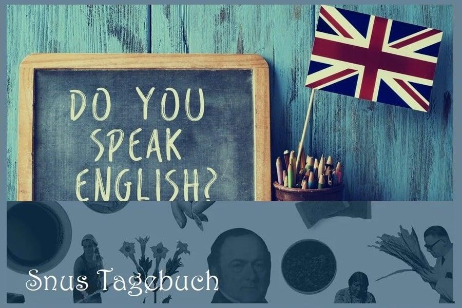 Snus auf Englisch