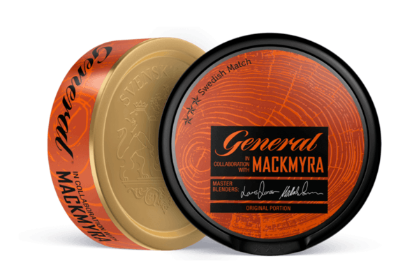 Swedish Match brachte General Mackmyra auf den Markt