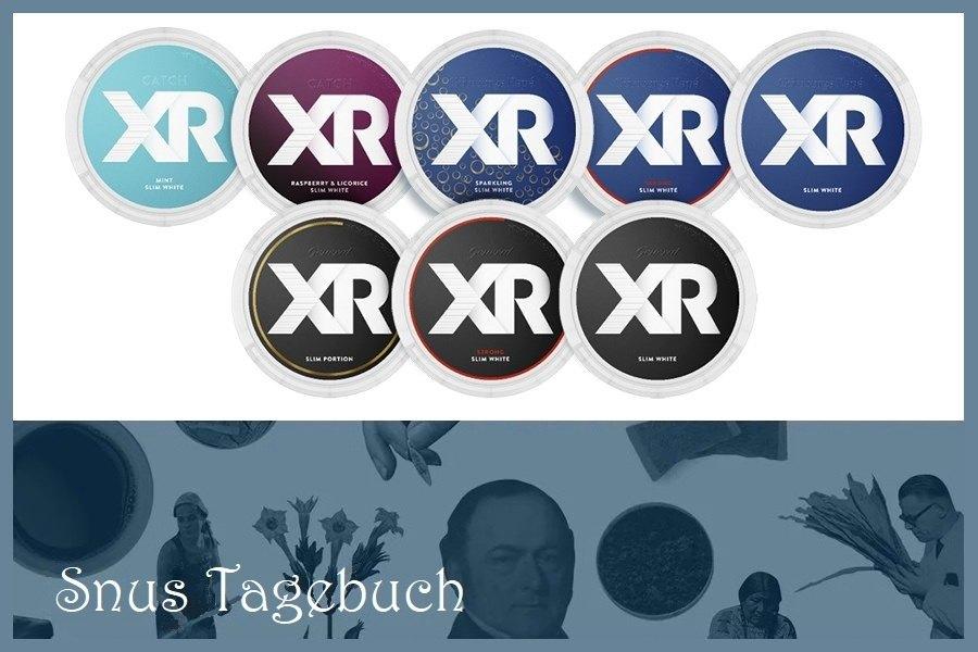 XR in neuer haltbarer Snusdose